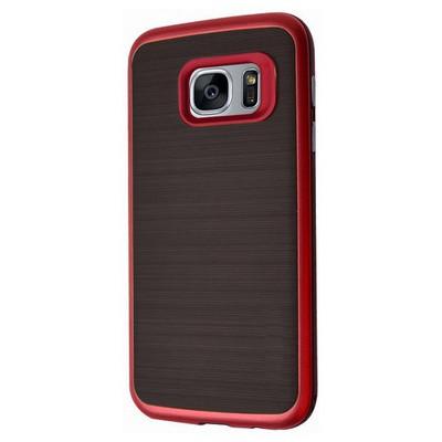 Microsonic Samsung Galaxy S7 Edge Kılıf Slim Heavy Duty Kırmızı Cep Telefonu Kılıfı