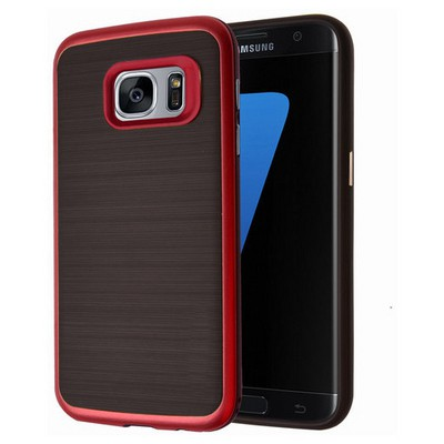 Microsonic Samsung Galaxy S7 Kılıf Slim Heavy Duty Kırmızı Cep Telefonu Kılıfı