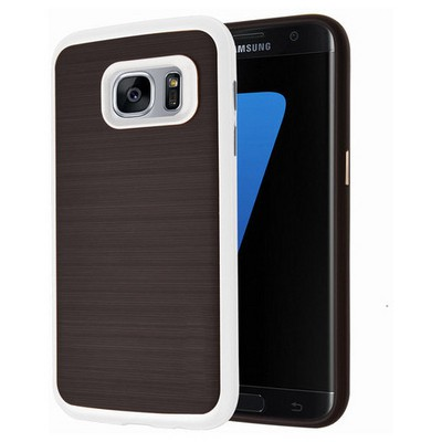 Microsonic Samsung Galaxy S7 Kılıf Slim Heavy Duty Beyaz Cep Telefonu Kılıfı