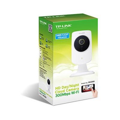 Tp-link NC250 HD Gündüz / Gece Bulut Kamera, 300Mbps Wi-Fi