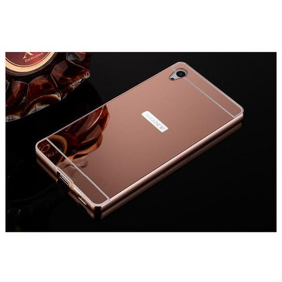 Microsonic Sony Xperia Z3+ Plus (z4) Kılıf Luxury Mirror Rose Gold Cep Telefonu Kılıfı