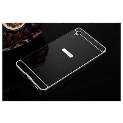 Microsonic Sony Xperia Z3+ Plus (z4) Kılıf Luxury Mirror Siyah Cep Telefonu Kılıfı