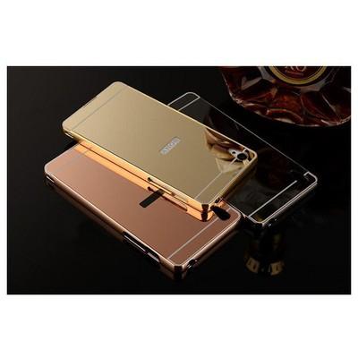 Microsonic Sony Xperia Z3 Kılıf Luxury Mirror Gümüş Cep Telefonu Kılıfı