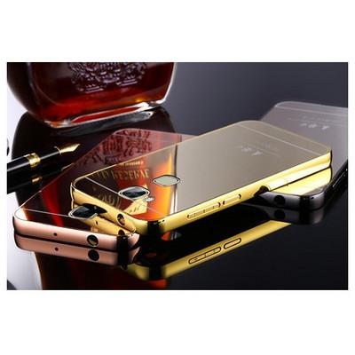 Microsonic Huawei Ascend G8 Kılıf Luxury Mirror Rose Gold Cep Telefonu Kılıfı