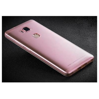 Microsonic Huawei Gr5 (honor 5x/x5) Kılıf Transparent Soft Pembe Cep Telefonu Kılıfı