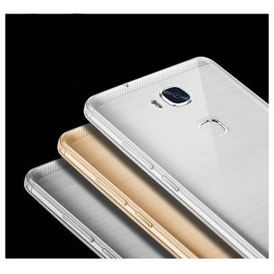 Microsonic Huawei Gr5 (honor 5x/x5) Kılıf Transparent Soft Siyah Cep Telefonu Kılıfı