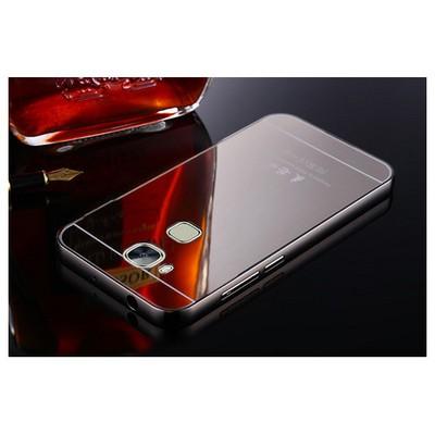 Microsonic Huawei Gr5 (honor 5x/x5) Kılıf Luxury Mirror Siyah Cep Telefonu Kılıfı