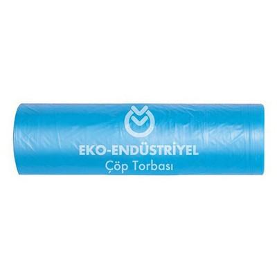 Koroplast Eko Endüstriyel Çöp Poşeti Hantal Boy 100x150 cm Mavi 1 Koli Çöp Torbaları