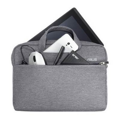 Asus Eos Taşıma Çantası Gri 12''Uyumlu - 90XB01D0-BBA050 Laptop Çantası