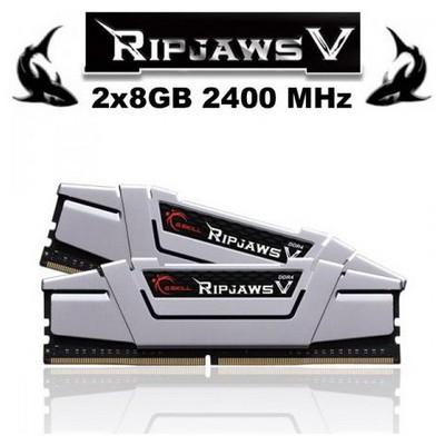 G.Skill Ripjawsv Metalik Gri Ddr4-2800mhz Cl15 8gb (1x8gb) (15-16-16-35) 1.25v RAM