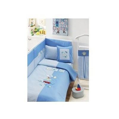Taç Tekstil Taç Baby Friends  - Mavi Bebek Uyku Seti