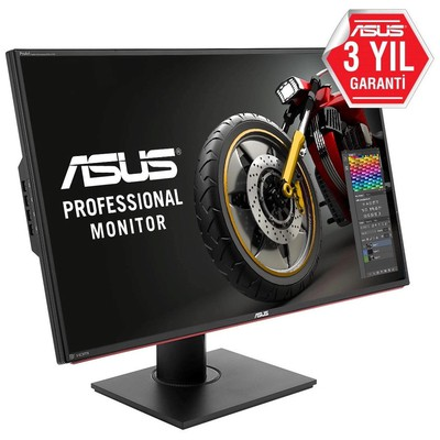Asus 32 PA328Q UHD LED MM 4K MONİTÖR 6MS Siyah Monitör