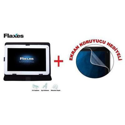 "Flaxes FDK-800S Üniversal 8"" Siyah Tablet Kılıfı"
