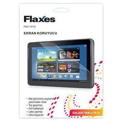 """Flaxes Galaxy Tab 2 10.1"""" Mat Ekran Koruyucu (FEK-101G)"""