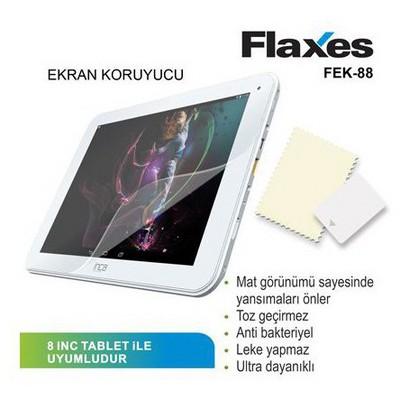 Flaxes Fek-88 Flaxes Fek-88 Tablet Mat Ekran Koruyucu 8 Inch Ekran Koruyucu Film