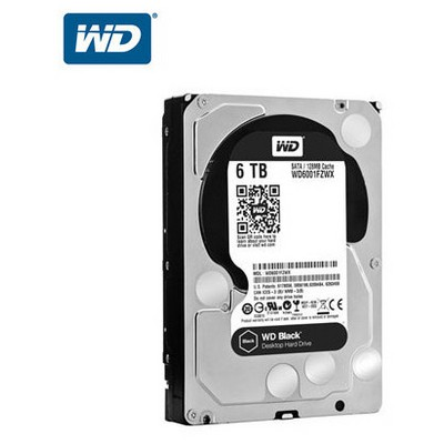 WD Black 6TB Desktop Performans Disk - WD6001FZWX