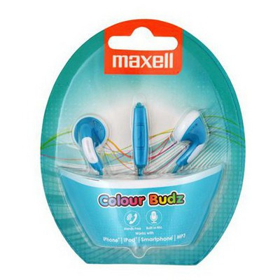 Maxell Colour Budz Mavı Kulaklık Mıc 303751.00.cn Kulak İçi Kulaklık