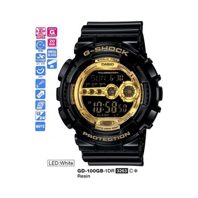 Casio Gd-100gb-1dr G-shock Erkek Kol Saati
