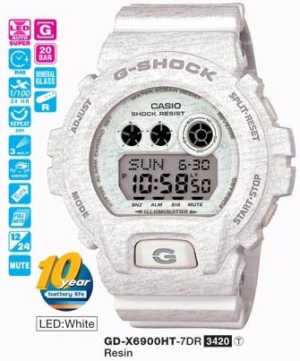 Casio Gd-x6900ht-7dr G-shock Erkek Kol Saati