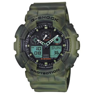Casio Ga-100mm-3adr G-shock Erkek Kol Saati