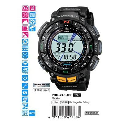 Casio Prg-240-1dr Pro Trek Erkek Kol Saati