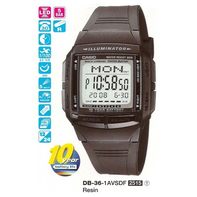 Casio Db-36-1avdf Digital Erkek Kol Saati