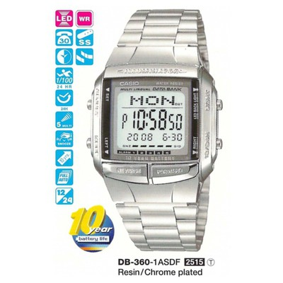 Casio Db-360-1adf Digital Erkek Kol Saati