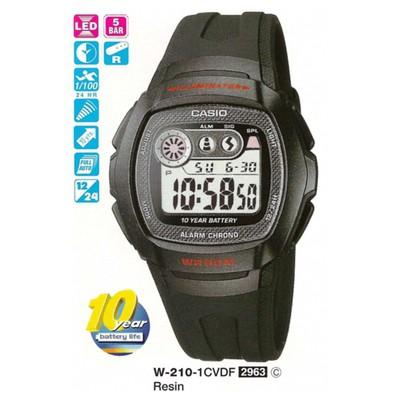 Casio W-210-1cvdf Digital Erkek Kol Saati