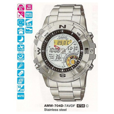 Casio Amw-704d-7avdf Standart Erkek Kol Saati