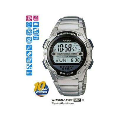 Casio W-756d-1avdf Digital Erkek Kol Saati