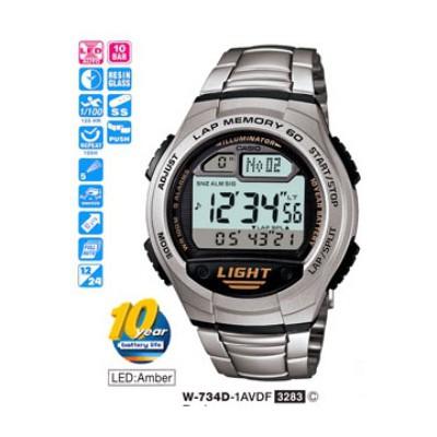 Casio W-734d-1avdf Digital Erkek Kol Saati