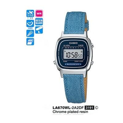Casio La670wl-2a2df Digital Kadın Kol Saati