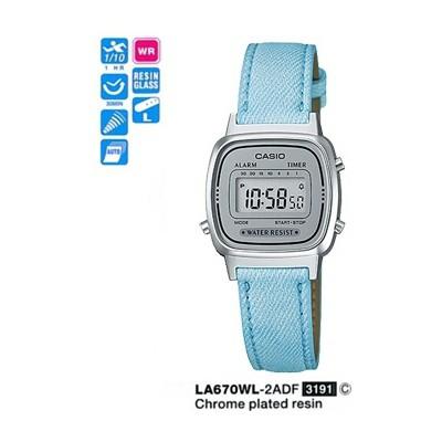 Casio La670wl-2adf Digital Kadın Kol Saati