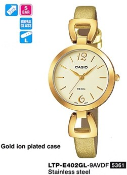 Casio Ltp-e402gl-9avdf Standart Kadın Kol Saati