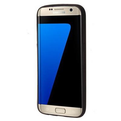 Microsonic Samsung Galaxy S7 Edge Kılıf Linie Anti-shock Mavi Cep Telefonu Kılıfı