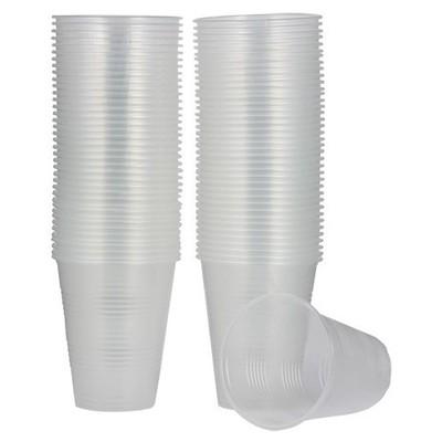 Roll-Up Roll Up Plastik Bardak Şeffaf 180 Ml 100 Adet Kullan At Malzemeler