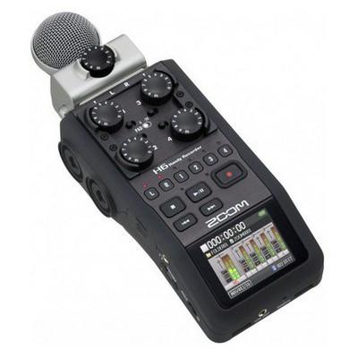 Zoom H6 Ses Kayıt Cihazı Mikrofon
