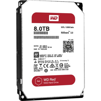 WD Red 8TB NAS Diski (WD80EFZX)