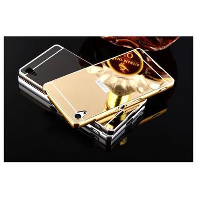 Microsonic Sony Xperia Z5 Premium Kılıf Luxury Mirror Rose Gold Cep Telefonu Kılıfı