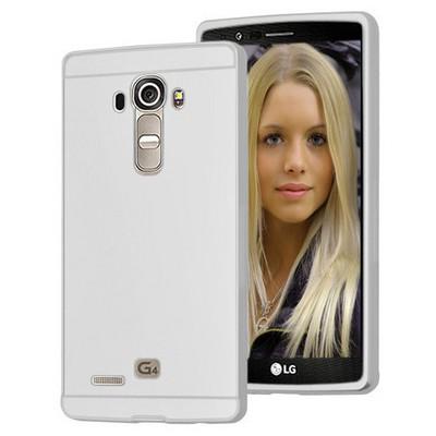 Microsonic Lg G4 Kılıf Luxury Mirror Gümüş Cep Telefonu Kılıfı