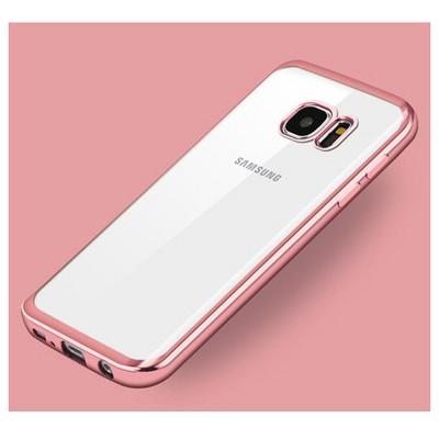 Microsonic Samsung Galaxy S7 Kılıf Flexi Delux Rose Gold Cep Telefonu Kılıfı