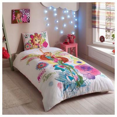 Taç Winx Magic Flora Nevresim Takımı Ev Tekstili
