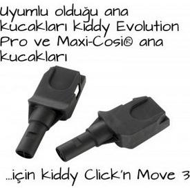 Kiddy Evolution Clıckn Move3 Adapter Ana Kucağı