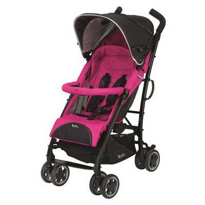 Kiddy Nest City'N Move Seyahat Sistemi Phantom/Pink Travel Sistem Bebek Arabası