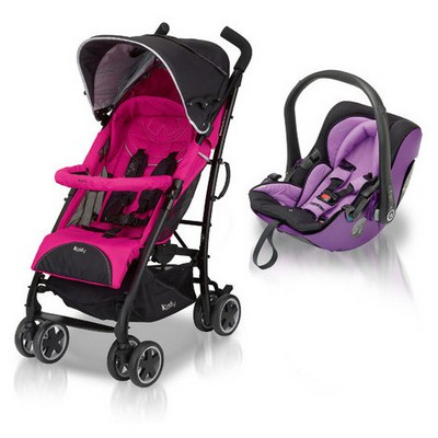 Kiddy Evolution Pro City'N Move Seyahat Sistemi Lavender/Pink Travel Sistem Bebek Arabası