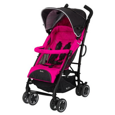 Kiddy Evolution Pro2 City'n Move Travel Sistem Bebek Arabası Black Pink Bebek Güvenliği