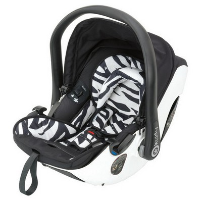 Kiddy Evolution Pro2 City'n Move Travel Sistem Bebek Arabası Zebra Apple Bebek Güvenliği