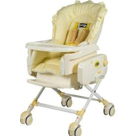 Prego 4036 Bambino Elektirikli  Sarı Mama Sandalyesi