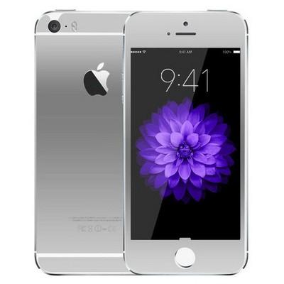 Microsonic Iphone 5s Mirror Temperli Cam Ekran Koruyucu Ön + Arka Gümüş Ekran Koruyucu Film