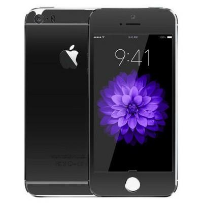 Microsonic Iphone 5s Mirror Temperli Cam Ekran Koruyucu Ön + Arka Siyah Ekran Koruyucu Film